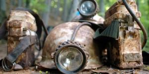 Miners helmets